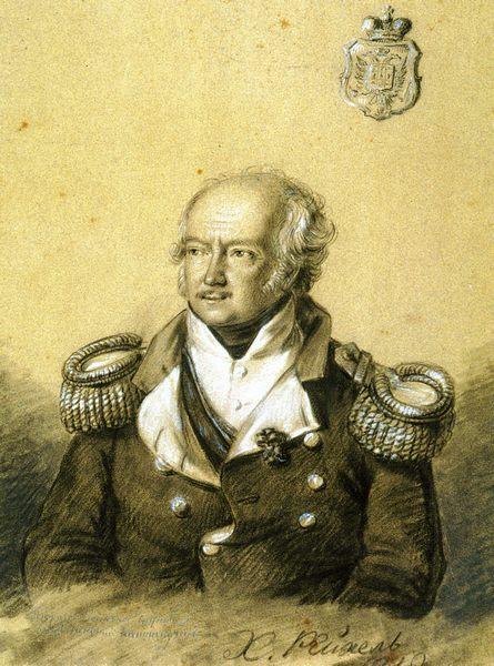Рейхель. Портрет князя Николая Родионовича Кантакузена. 1812