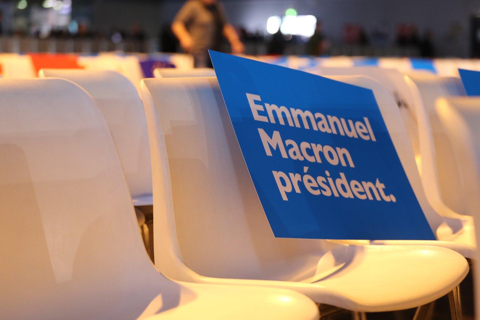 Emmanuel Macron Candidat a l'élection présidentielle 2017