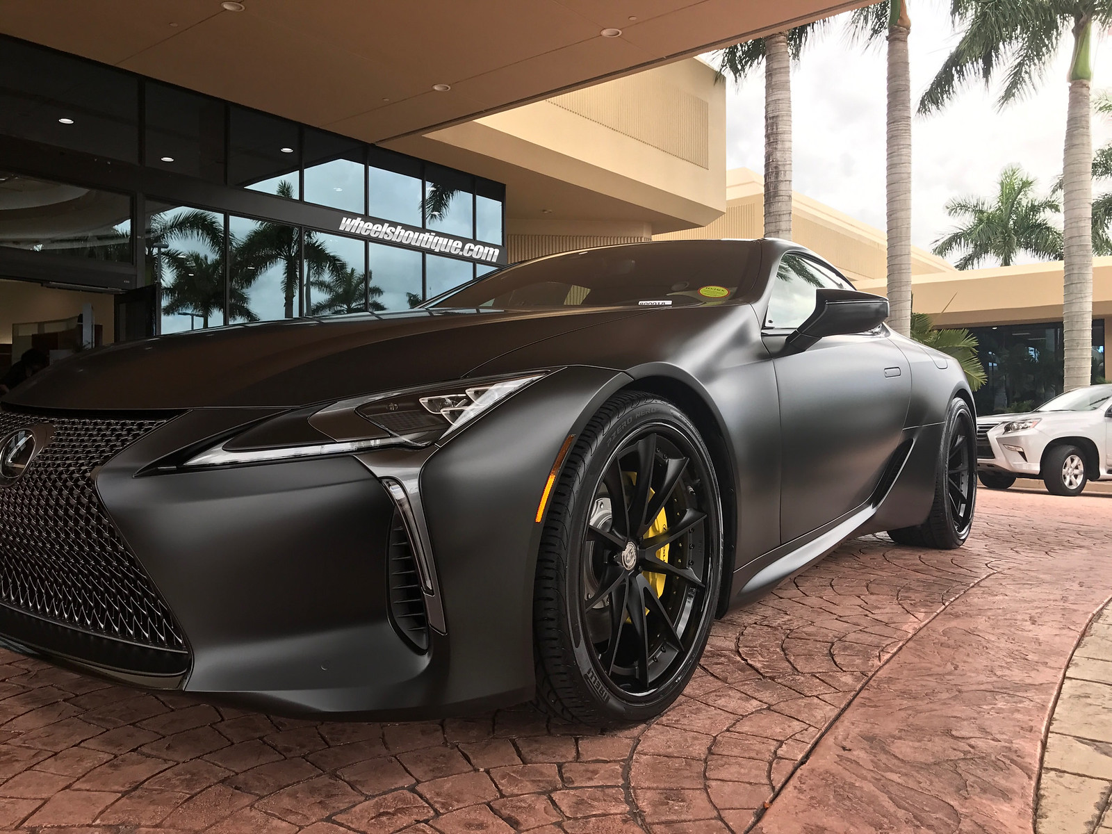 Trio Of Brand New Lexus Lc500 S Already On Hre Wheels From