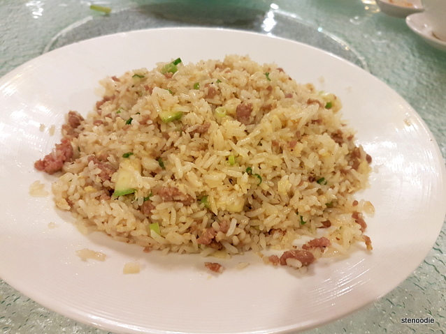 Fried Rice with Wagyu Beef, Ginger and Shrimp Oil