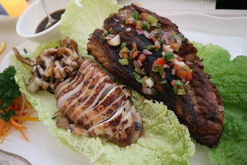 grilled squid and grilled tuna belly Kairos Kitchen Davao Opens a Sea-riously Kairos Seafoods Restaurant IMG_1017