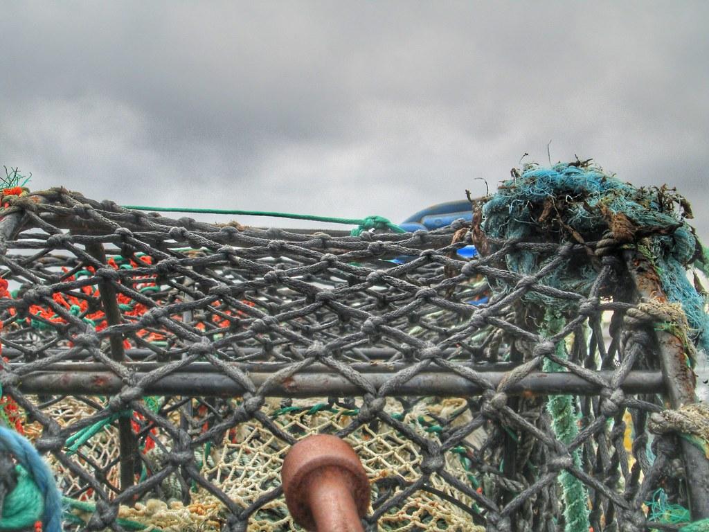 Aran Islands Inis Mor Fishing Nets