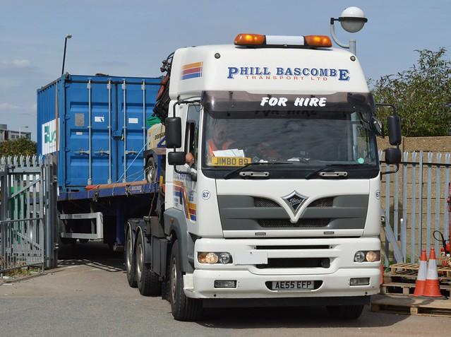 Lorry (2) @ KGV Lock 14-08-17