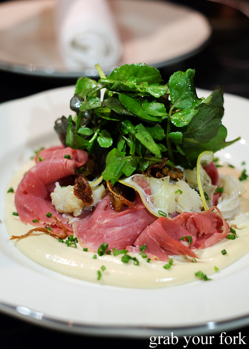 Vitello tonnato at Porteno in Surry Hills