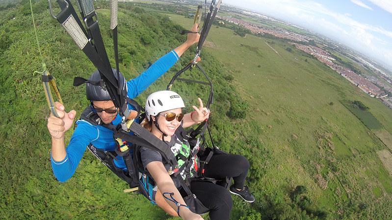 Paragliding in Carmona
