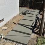 Custom Concrete Stepping Stones In Davis