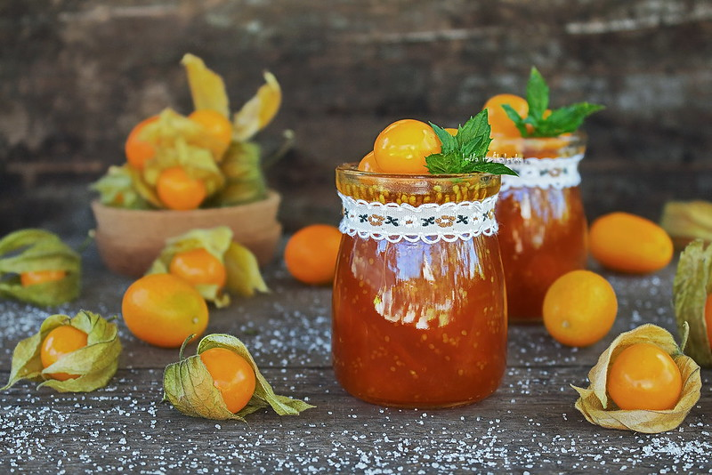...jam physalis and orange