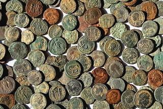 'Near Spilsby Roman coin hoard