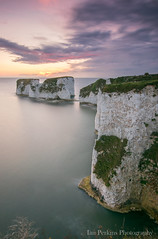 Sunrise at Old Harry Rocks, Dorset