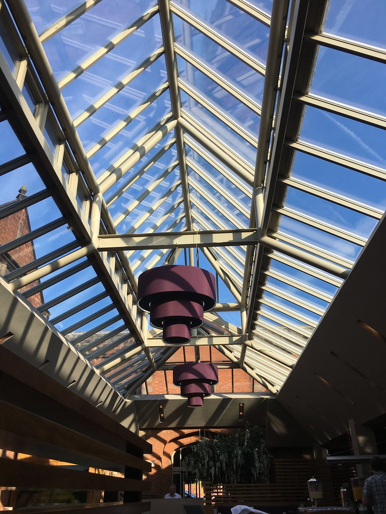 The Mere - glass roof