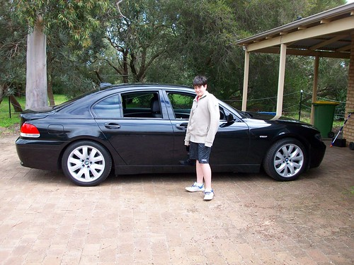 Young me & the E65