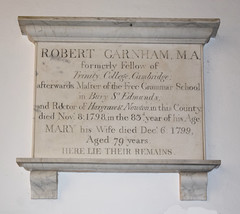Master of the Free Grammar School in Bury St Edmunds