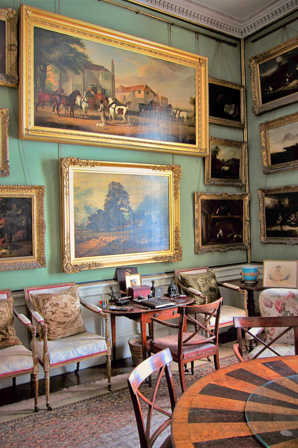 The Breakfast Room , Calke Abbey