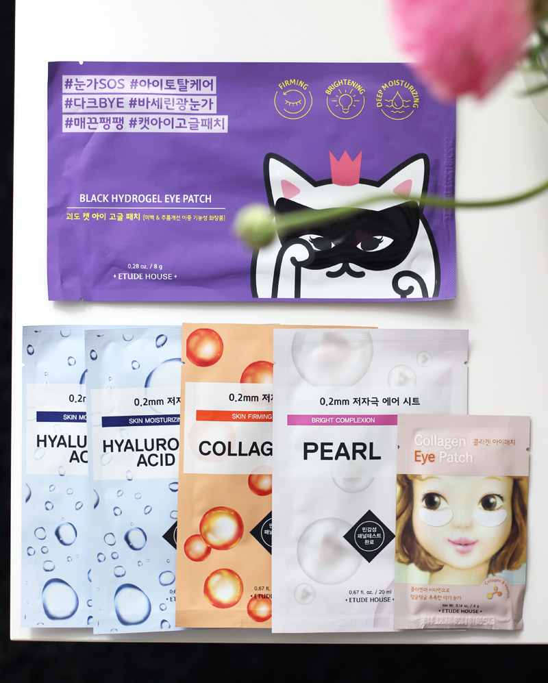 Japan Sheet Mask Haul - Etude House