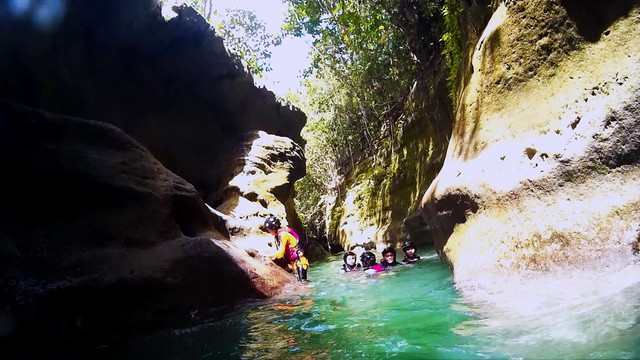 Canyoning in Cebu