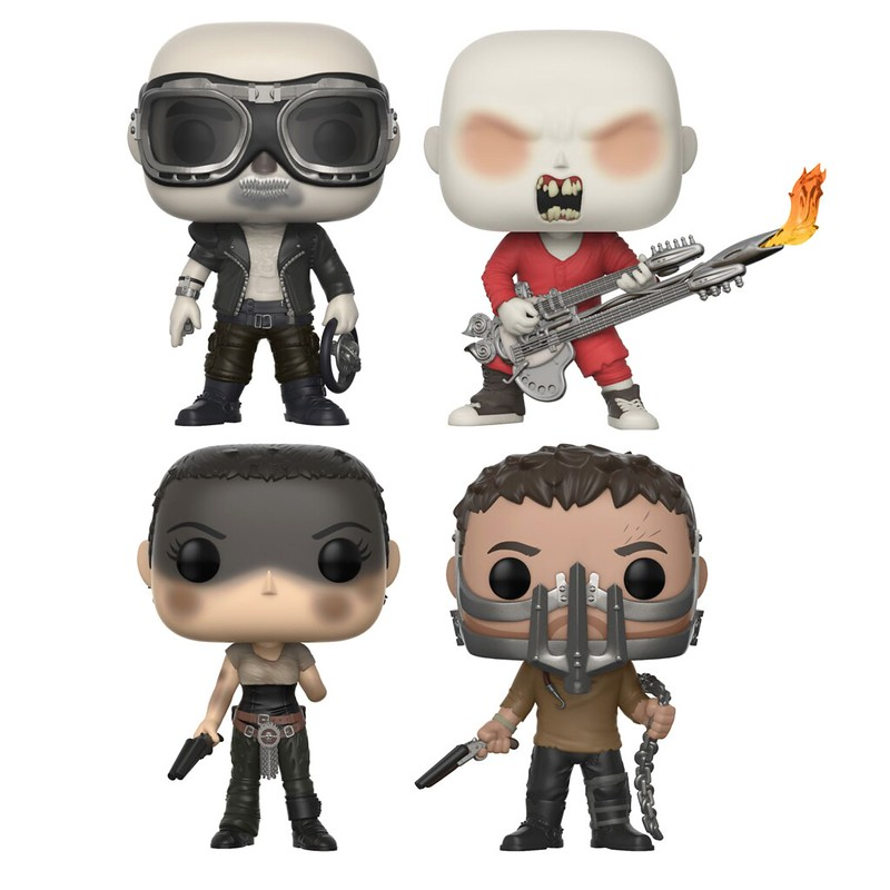 MAD MAX FURY ROAD Exclusive Pop Vinyls
