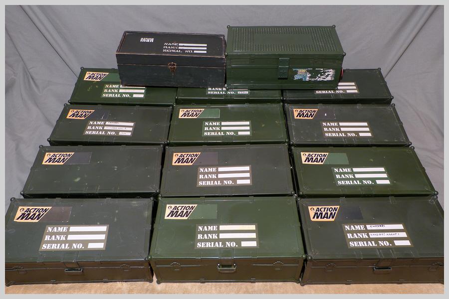 Locker Boxes Full of Mixed Items 36630546165_70bef93230_o