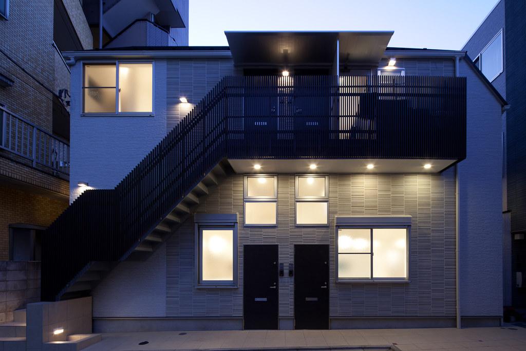 I-AREAシリーズのひとつのアパートメントハウス