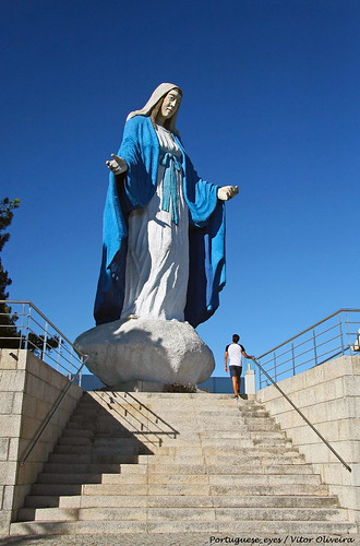 Monumento à Virgem Milagrosa - Campia - Portugal 🇵🇹