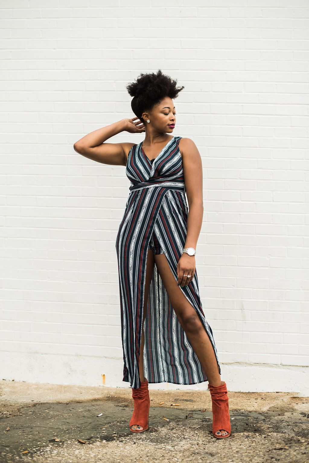 how to style a skirted romper