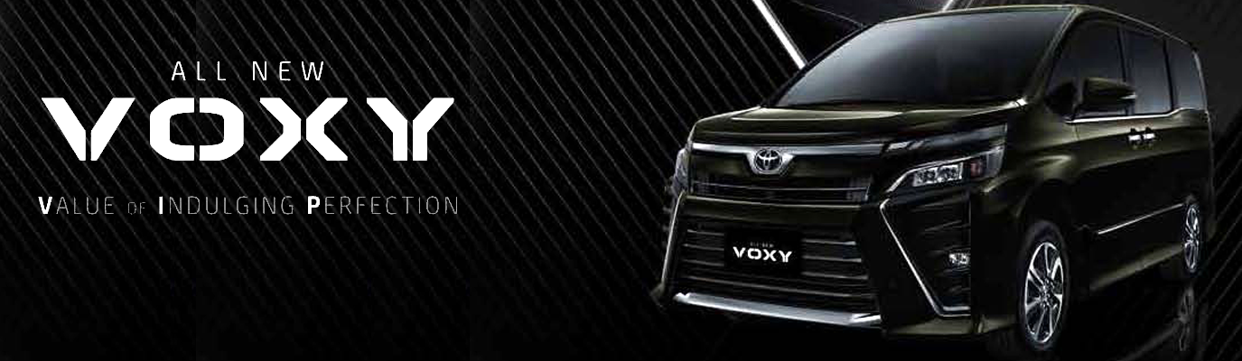 Mobil Toyota Voxy di Jakarta