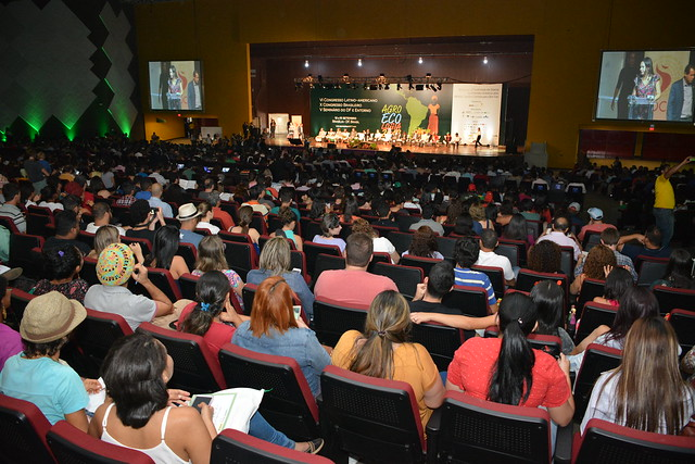Abertura do VI Congresso Latino - Americano, X Congresso Brasileiro, V Seminário do DF e Entorno de Agroecologia 2017.
