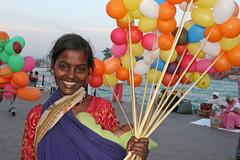 Young woman in Haridwar, Uttarakhand