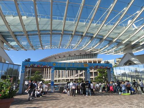 小倉競馬場のメインゲート