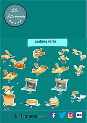 Do you cook?  #laidiomeria #cooking #cocinar #cucinare #kitchen #cucina #cocina #vocabulary #school #languages #idiomas