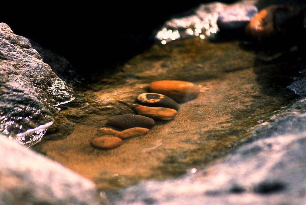 Steine Im Wasser Minolta Dynax 800si Agfa Precisa Ct 100 D