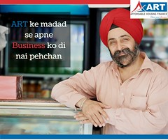Quick Home Loan for Self salaried customers by ART Affordable Housing Finance (India) LTD