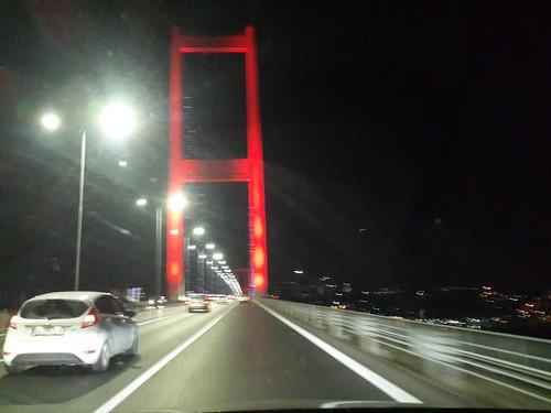 Isztambul! Boszporusz!