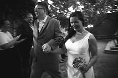 Leaving the wedding