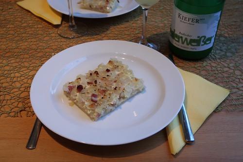 Zwiebelkuchen (mein 1. Stück)