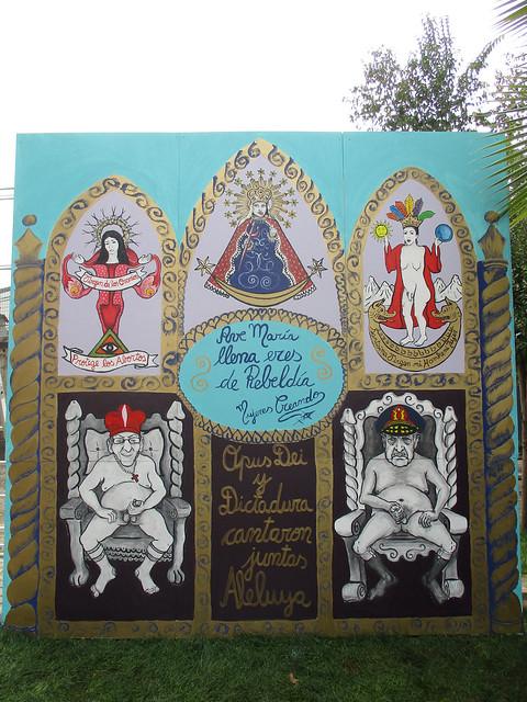 Altar Blasfemo en Chile