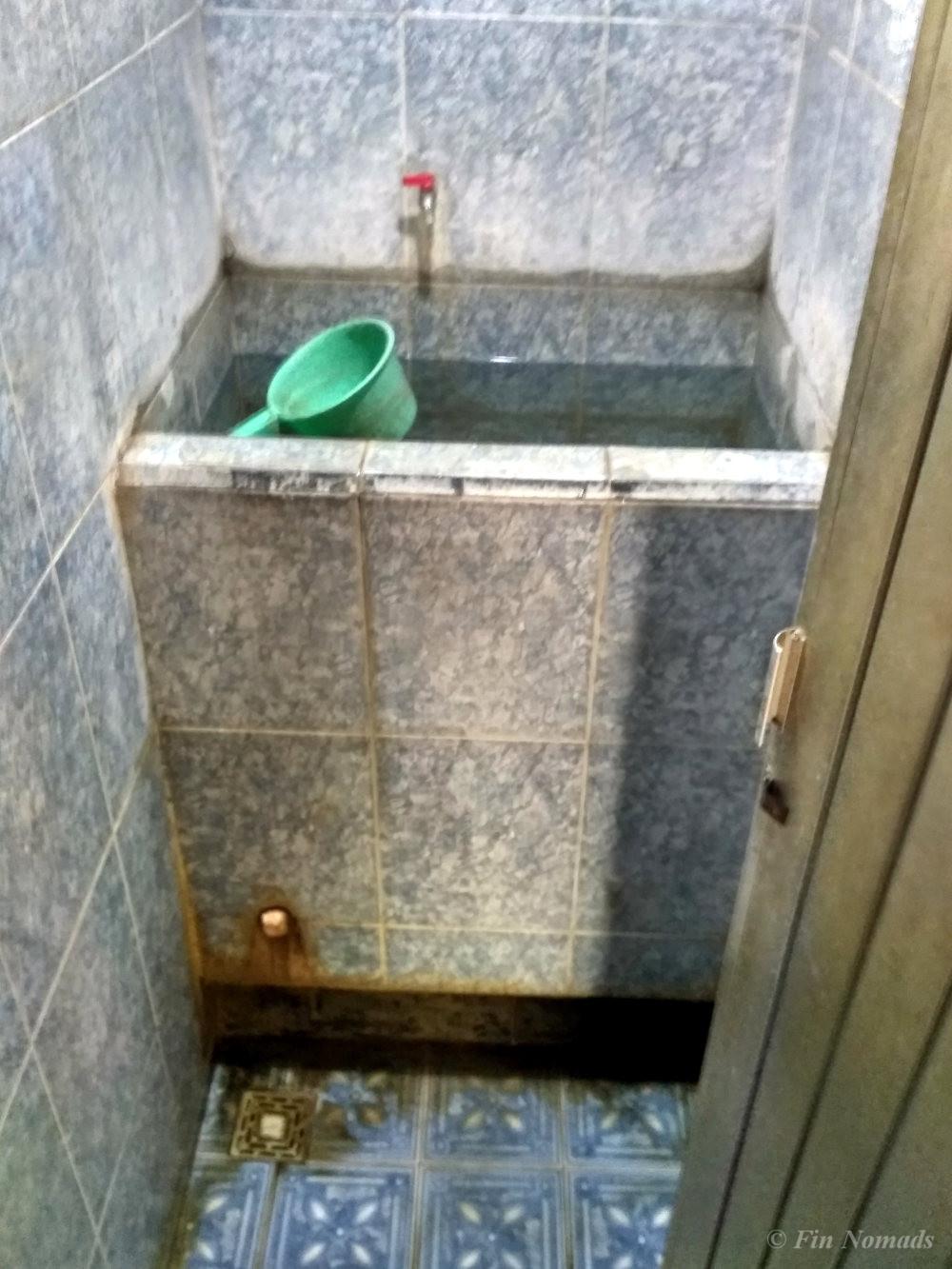 Indonesian toilet