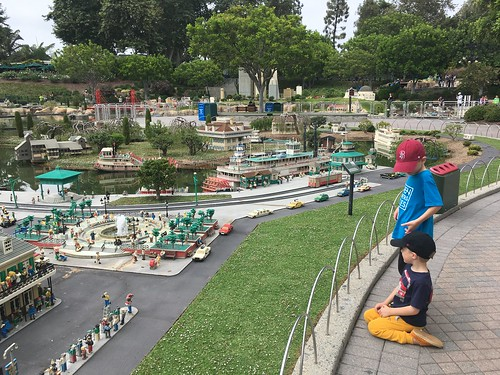 Brothers at Miniland