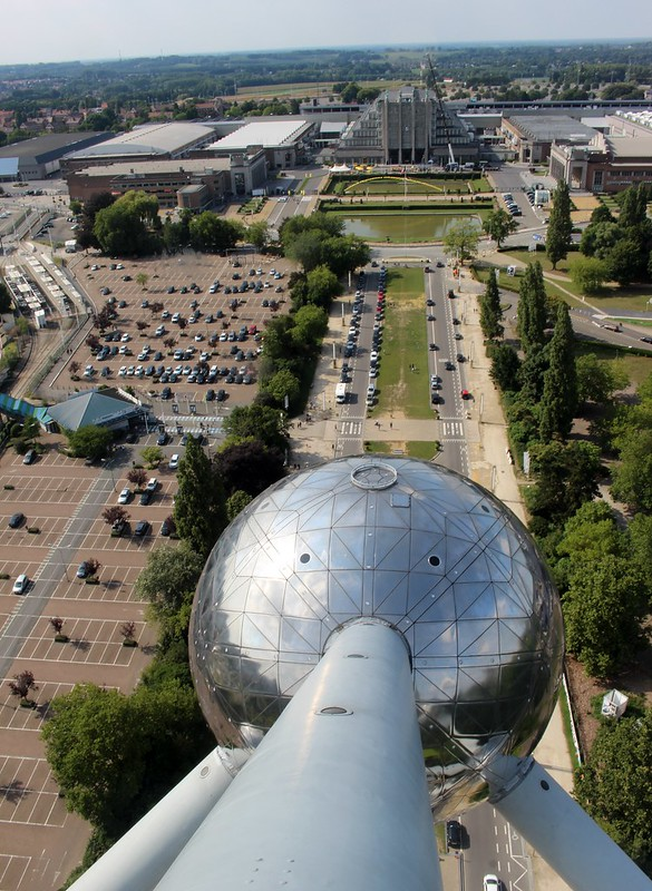 Brussels: view from the Atomium