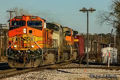 BNSF 5490 | BNSF 5144 | BNSF Thayer South Subdivision