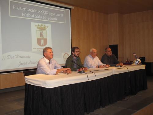 Presentación de la Liga Local de Fútbol Sala
