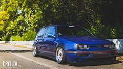 Critical. Member Golf Mk3 with BBS RS by Patrik B.