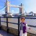 Audrey and Tower Bridge