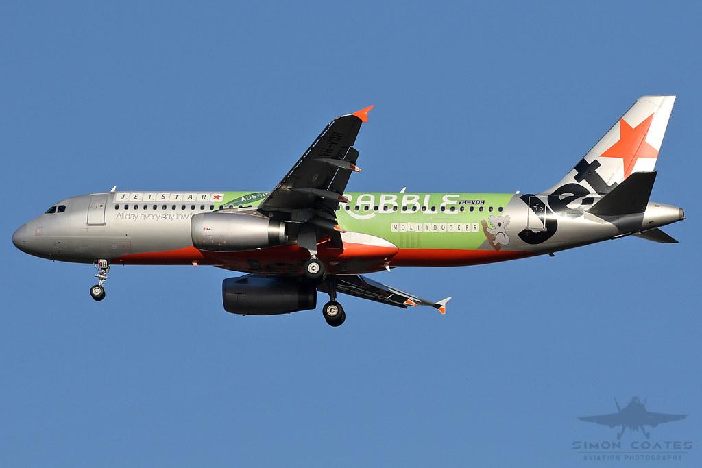 VH-VQH A320 JETSTAR