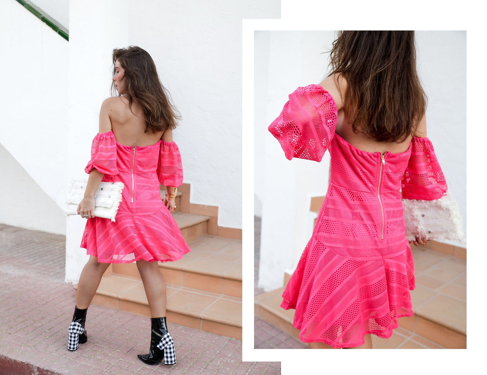 010_vestido_rosa_off_shoulder_danity_paris_pink_dress_theguestgirl_outfit_boots_vichy_trend_alert