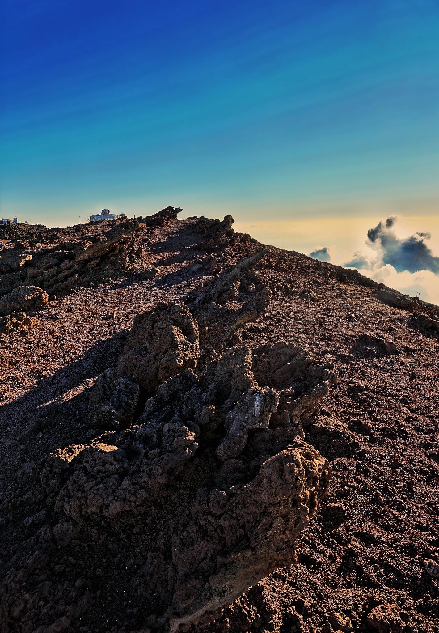 Windswept Peaks of Haleakala