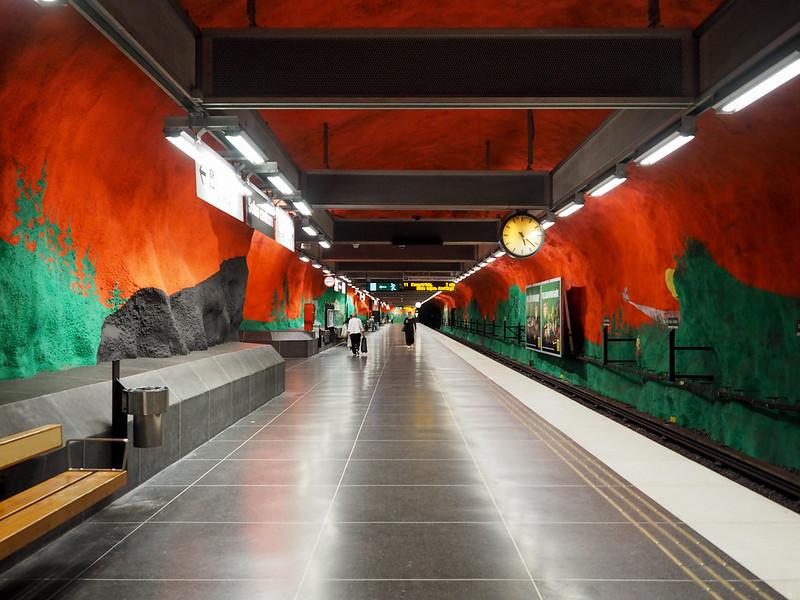 Solna Centrum metro station