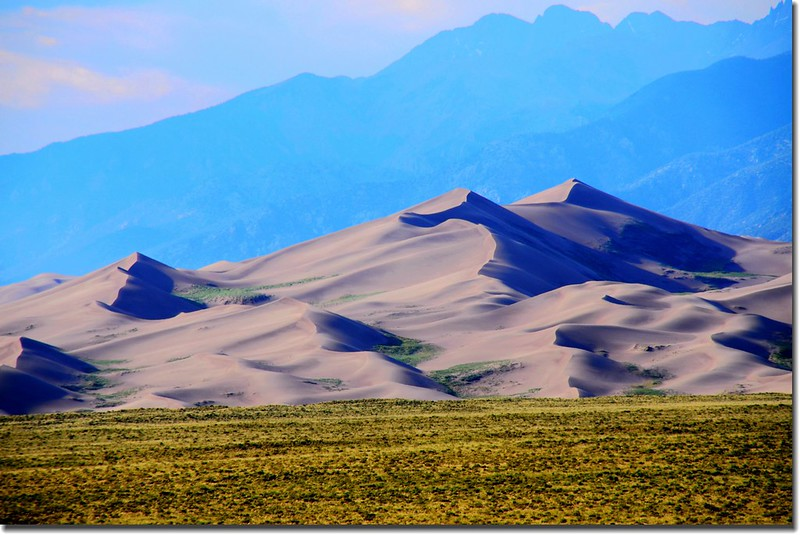 Dusk at Great Sand Dunes National Park  (1)