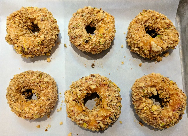 "Ring of Saturn Peach ""Doughnuts"" (Unbaked)"