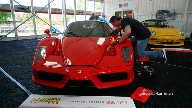 2003 Ferrari Enzo at Mecum Auction Monterey 2017