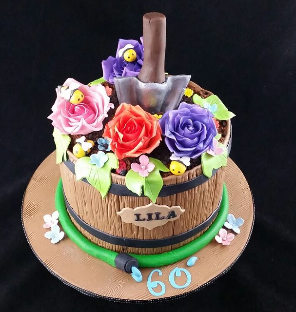 Gardening Themed Cake by Fabulous Cakes